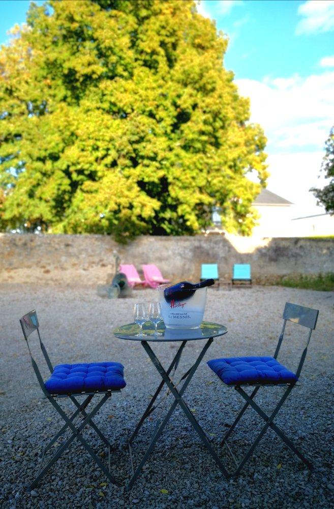 Aire camping-car à Mesnil-sur-Oger (51190) - Photo 1